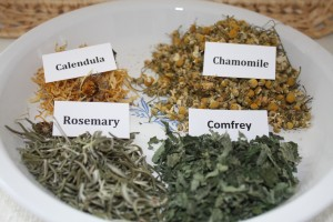 Herbs used in Hair rinse